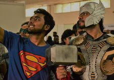 Colombo Comic Con Sri Lanka royalty free stock image