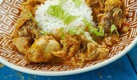 Colombo de poulet στοκ φωτογραφίες με δικαίωμα ελεύθερης χρήσης
