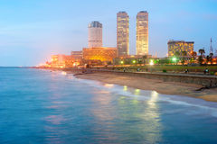 Colombo downtown Royalty Free Stock Photo