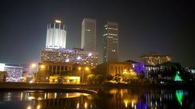 Colombo en la noche Imagenes de archivo