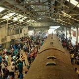Colombo Fort Railway Station arkivbilder
