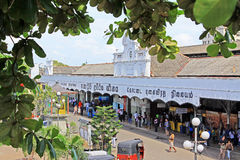 Colombo Fort Railway Station photo stock