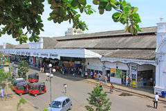 Colombo Fort Railway Station Royalty Free Stock Images