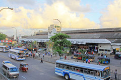 Colombo Fort Railway Station Stock Photography