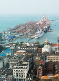 Colombo harbor Royalty Free Stock Images