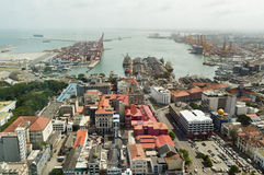 Colombo Harbour Stockbild