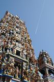 Colombo is the largest city of Sri Lanka. Hindu temple in Colombo. Royalty Free Stock Photo