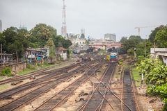 Colombo mane line Royalty Free Stock Images
