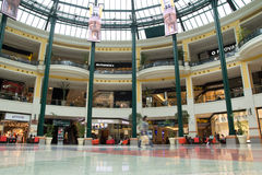 Colombo Shopping Center. LISBON, PORTUGAL - MAY 29, 2014: Inside the Colombo Shopping Center in Lisbon. The Colombo opened in 1997 and has 404 retail stores Royalty Free Stock Photo