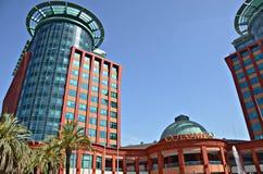 Colombo Shopping Center in Lissabon Stockbilder