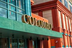 Colombo Shopping Center in Lissabon Beroemd winkelend centrum in Lissabon Het opende op 15 September 1997 Royalty-vrije Stock Fotografie