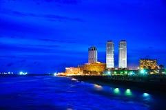 Colombo Skyline, Sri Lanka Foto de archivo