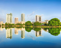 Colombo skyline Stock Images