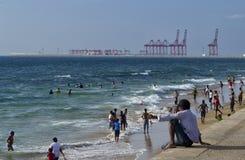 Colombo South Harbour Fotografía de archivo libre de regalías