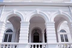 Colombo Sri Lanka - 11 Februari 2017: Det nationella museet av Colombo har en rik samling av asiatiska konster Fotografering för Bildbyråer