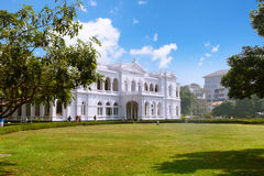 Colombo Sri Lanka - 11 Februari 2017: Det nationella museet av Colombo har en rik samling av asiatiska konster Arkivfoto