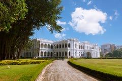 Colombo Sri Lanka - 11 Februari 2017: Det nationella museet av Colombo har en rik samling av asiatiska konster Royaltyfri Bild