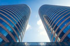 Världshandel centrerar WTC i Colombo, Sri Lanka Fotografering för Bildbyråer