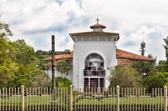 COLOMBO/SRI LANKA - Marzec 17 2018: Kościół Ceylon w Kolombo Obrazy Royalty Free