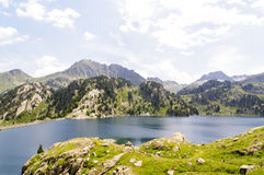 Colomers Lakes, Pyrenees, Spain Stock Images