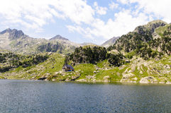 Colomers Lakes, Pyrenees, Spain Royalty Free Stock Images