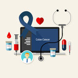Colon cancer treatment chemotherapy medicine medical diagnosis Stock Photos