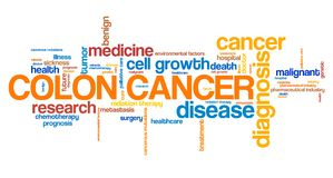 Colon cancer Royalty Free Stock Images