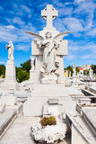 The Colon cemetery in Havana Stock Image