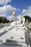 The Colon Cemetery in Vedado - Havana, Cuba Stock Photography