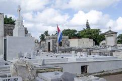The Colon Cemetery in Vedado on 29 November 2015 in Havana, Cuba Stock Photography