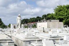 The Colon Cemetery in Vedado on 29 November 2015 in Havana, Cuba Stock Image