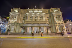 Colon Theatre in Buenos Aires, Argentina. Stock Photos