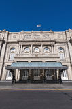 Colon Theatre main entrance at Buenos Aires Stock Photo