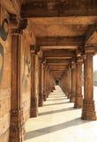 Colonade in Jama Masjid royalty-vrije stock afbeeldingen