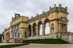 Colonade at Schonbrunn royal castle-Vienna,Austria Royalty Free Stock Images