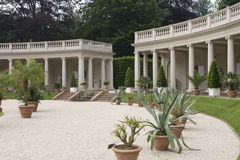 colonades κήπος Στοκ φωτογραφία με δικαίωμα ελεύθερης χρήσης