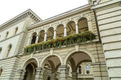 Colonades on the Bundeshaus Stock Photography