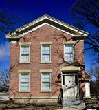 Colonel Gustavus A. Palmer. This is a Winter picture of the historic Colonel Gustavus A. Palmer House located in Crystal Lake, Illinois in McHenrty County.  This Stock Images