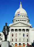 Colonel Heg Statue, Wisconsin State Capitol Building Stock Photos