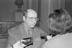 Colonel Nikolai Semyonovich Petrushenko obraz stock