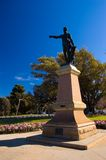 Colonel William Light. At Montefiore Hill, Adelaide, South Australia Stock Photography