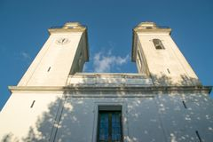 Colonia, παλαιά εκκλησία της Ουρουγουάης Στοκ εικόνα με δικαίωμα ελεύθερης χρήσης