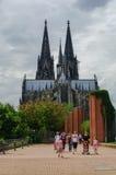 Colonia, Alemania Jule 10, 2011: Vista de la catedral de Colonia de Foto de archivo