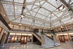 Colonia de grajos que construye Chicago interior Illinois Imagenes de archivo