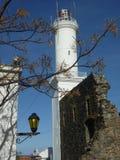 Colonia de Sacramento Lighthouse Royalty Free Stock Images