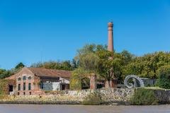 Colonia de Sacramento miasteczko, Urugwaj, Podróżuje Ameryka Południowa Jest zdjęcie royalty free