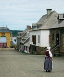 Colonia del francés del siglo XVIII Fotos de archivo