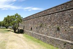 Colonia Del Sacramento - Stone Wall Stock Image