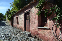 Colonia del Sacramento street Royalty Free Stock Images