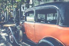 COLONIA DEL SACRAMENTO URUGWAJ, LUTY, - 03, 2018: Stara samochodowa norma Obrazy Royalty Free